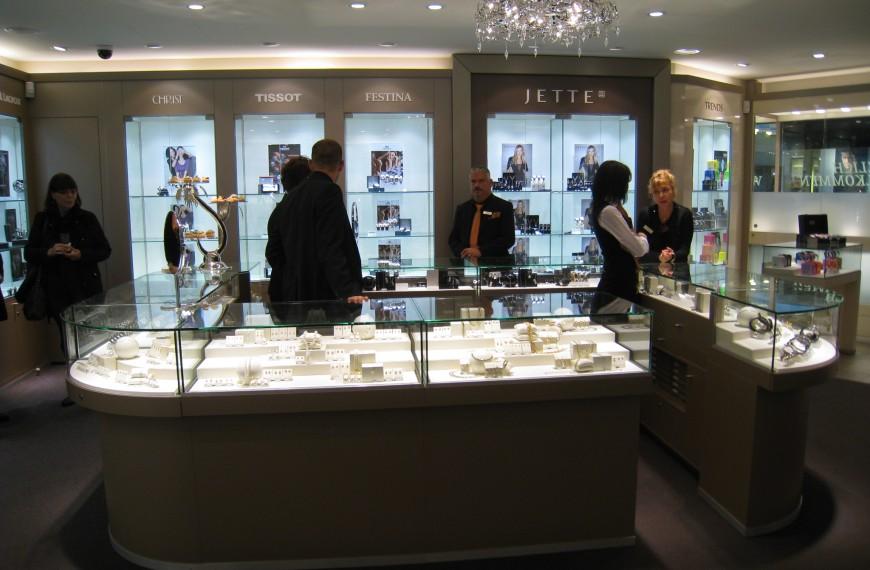 Magazin de ceasuri si bijuterii