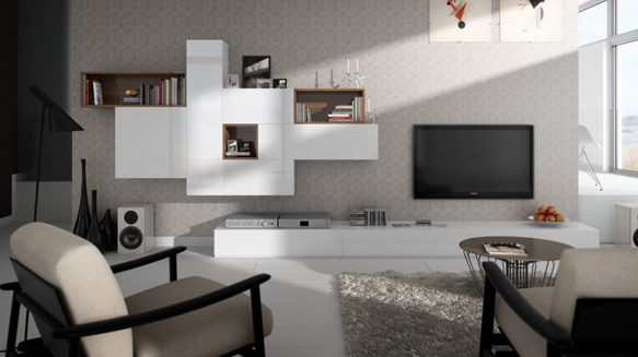 Mobilier Living - Tetris